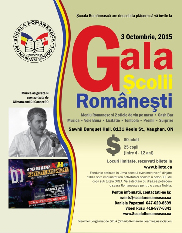 Afis Gala Romaneasca