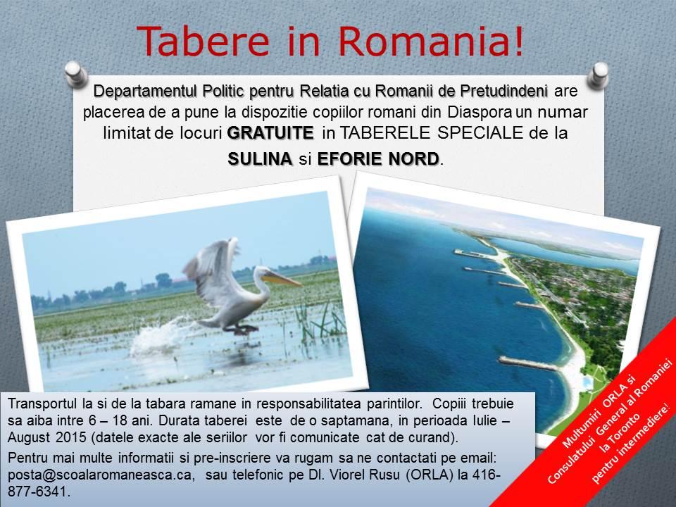 Tabara de vara la Sulina si Eforie Nord