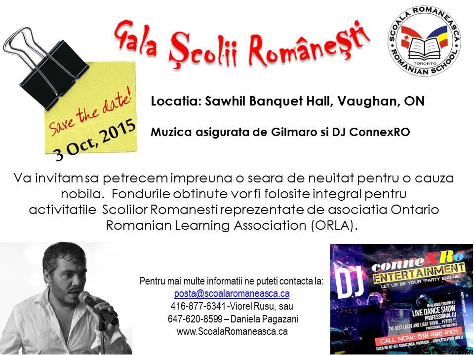 Gala Scolii Romanesti