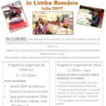 Tabara de vara in limba romana – 2017 – Editia a 4-a